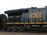 CSX ET44AH 3388