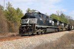 NS 9590 westbound near S. Peters Rd