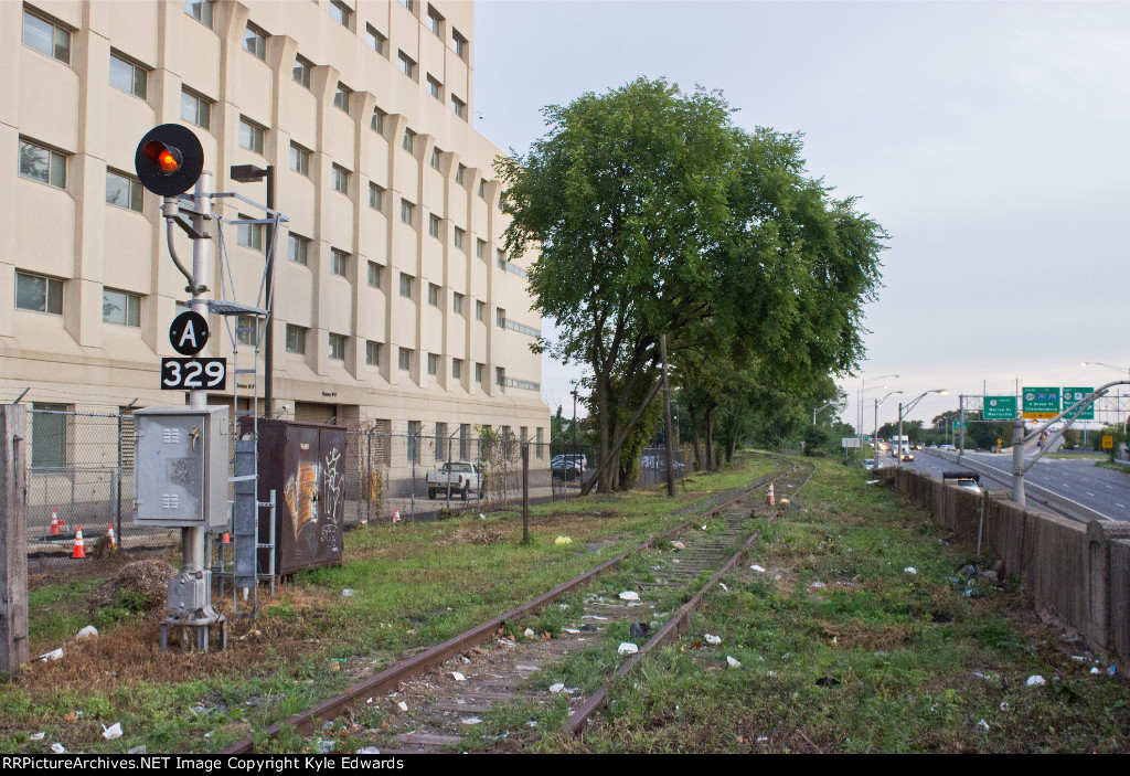 Conrail Port Running Track - E. State St. View (South)