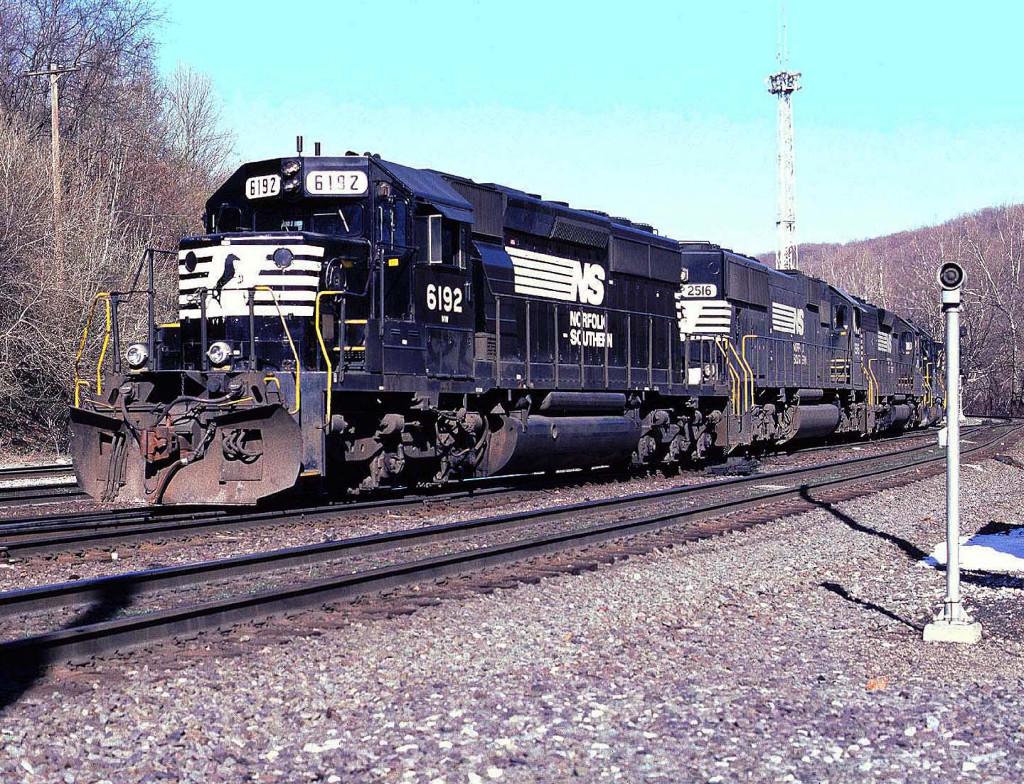 CP 556 at Allentown yard