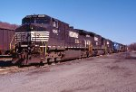 NS/CR power at Allentown yard