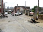 Frankford Ave blockage