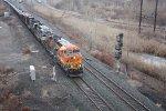 K 144  loaded oil train 11:30 am