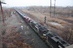 K 144 LOADED OIL TRAIN 11;30 AM