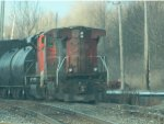 CN C44-9W Long Hood Forward