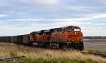 BNSF 6150 and 9133