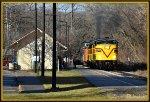 CVSR 6777 pulls past Northside Station.