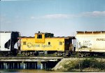 C&O 903141  headed into bay city Michigan at Chaboiganing creek bridge.  Date and photographer unknown.  uploaded for registry addition.