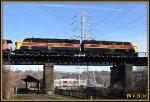 CVSR 6771 & 6777 look great crossing Cascade Locks Bridge together.