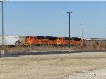 BNSF SD70ACes 8400 & 8537