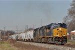 CSXT 3318 On CSX J 783 Eastbound