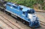GMTX 2615 leads train 350 at Boylan Junction