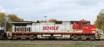 """BNSF 775 leads NS train 162 off the """"S"""" line towards Linwood Yard"""