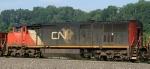 CN 2446 trails on train 924