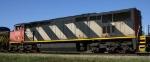 CN 2416 heads north on CSX train Q410
