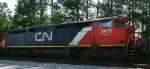CN 2415 heads north on CSX train Q494