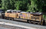 UP 5826 working on NS train 60U