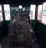 On the footplate of Edaville 11
