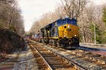 CSX 3380 and 646 on Q136