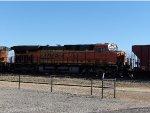 BNSF ES44DC 7212