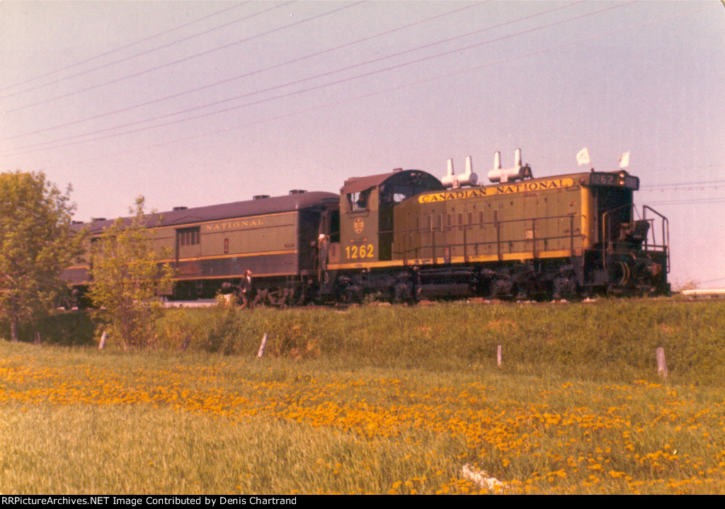 Montreal to Aston Junction May 26th 1973