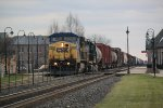 CP 287 With CSX Motors!