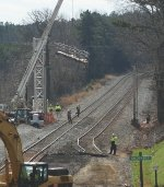 Bye Bye signal bridge at former CP Smothers