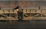 "Rock on the conveyor belt of the ""GREX train"""