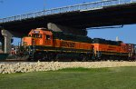 BNSF 2321 and 2889