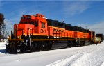 BNSF 3147 and 2582