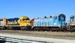 NREX 2284 and BNSF 3825