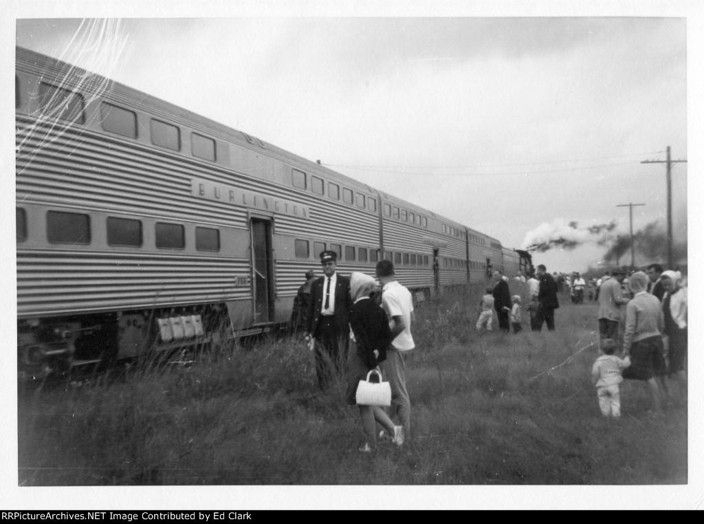 CB&Q 4960 excursion   fall 1964-65?