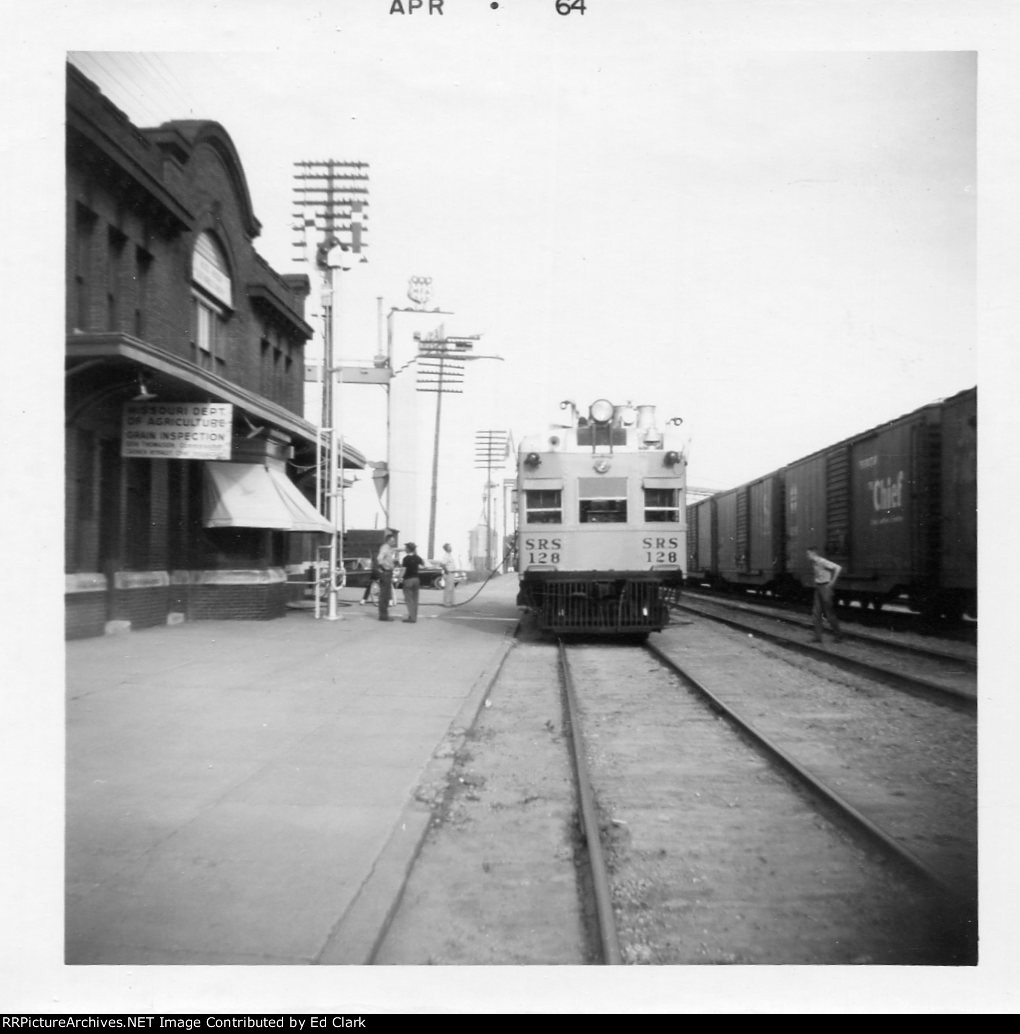 Sperry Rail Service car GM&0 Depot April 1964