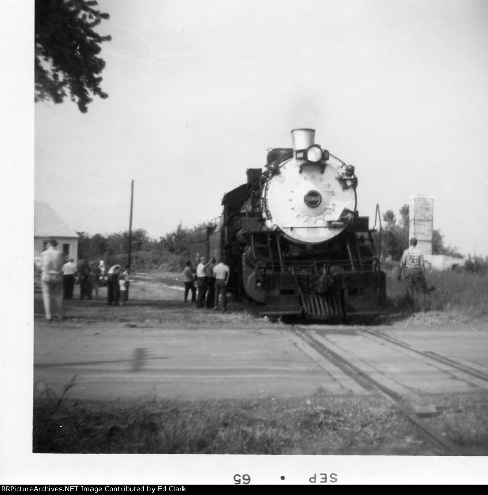 "CB&Q 4960 at GM&0 ""Y""  on Fulton Branch 1964-65?"