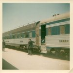 West bound Wabash/N&W morning passenger train 1965-68?