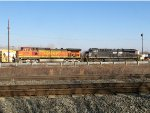BNSF 5155 and NS 8157