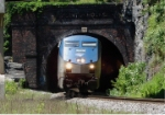 Capitol Limited coming out of Point of Rocks tunnel