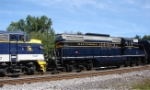 B&O 6604 and the nose of C&O 8016