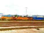 BNSF Locos at Commerce