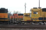 BNSF 1753, 1736, and 1923