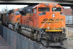 BNSF 8400 and 6028