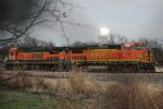 BNSF 532 and 564