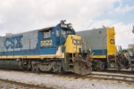 Front right side view of CSX 5822
