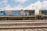 Left side long hood view of CSX 5578