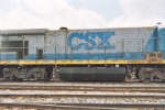 Right side long hood view of CSX 5578