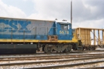 Partial right side view of CSX 5578