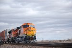 BNSF 5533 Heads eastbound as the Rearmost DPU as She Heads towards BNSF Belen NM  for a crew swap.