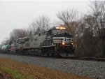 "NS 4003 ""DC2AC"" leads the local east on a cloudy Monday morning"