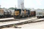 CSX SD40-3 4041 and SD40E3 1705