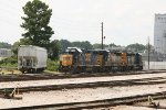 CSX GP38-2 2770, SD40-3 4041, and SD40E3 1705
